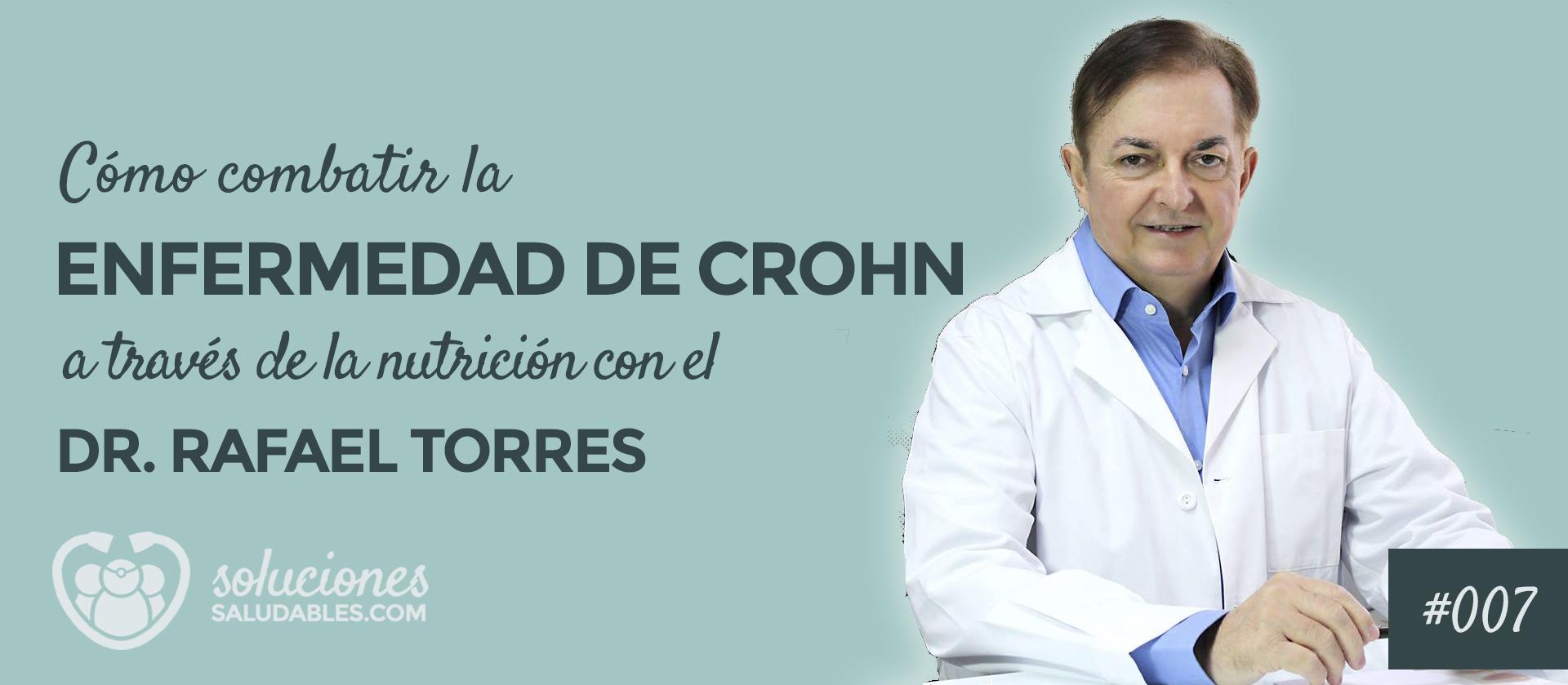 Combatir Enfermedad Crohn a través de la nutrición